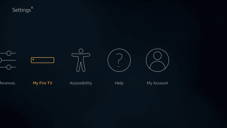 My Fire TV\Devices