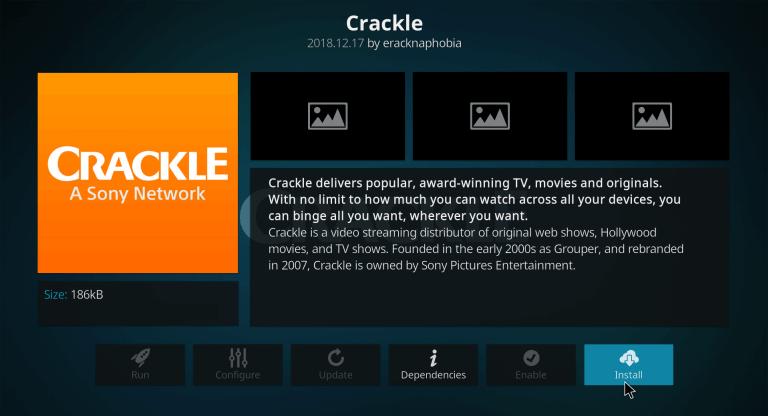 Crackle for Firestick