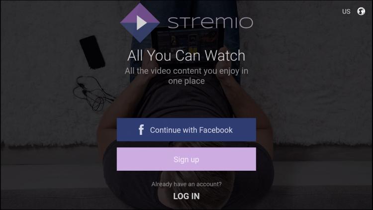 Stremio App on Firestick