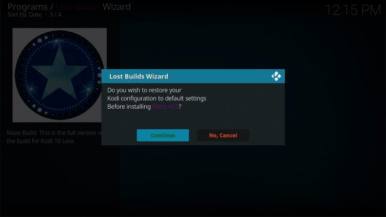 Maze Kodi Build on Firestick