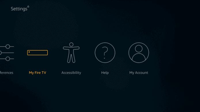 Select My Fire TV - Quibi on Firestick