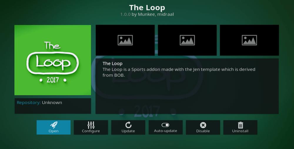 The Loop is a best Kodi Addon to watch PPV on Firestick