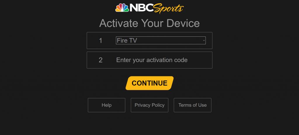 Activate NBC