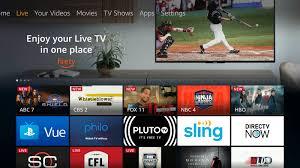 PBS on Firestick- Home screen